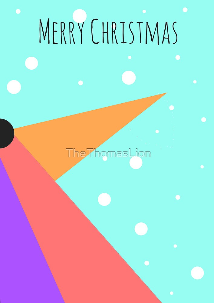 Penguin Card by TheThomasLion