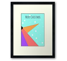 Penguin Card Framed Print