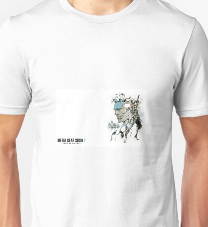 Metal Gear Solid 2 Unisex T-Shirt