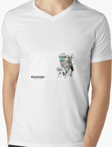 Metal Gear Solid 2 Mens V-Neck T-Shirt