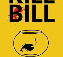 Kill Bill Minimalist Design by TJ Ruesch