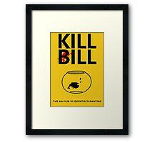 Kill Bill Minimalist Design Framed Print