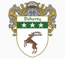 Doherty Coat of Arms/Family Crest T-Shirt