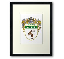 Doherty Coat of Arms/Family Crest Framed Print