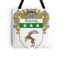Doherty Coat of Arms/Family Crest Tote Bag