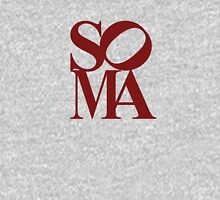SOMA RED Womens Fitted T-Shirt