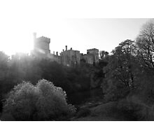 Lismore castle over the clean blackwater Photographic Print