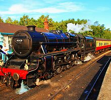 Eric Treacy - Steam Locomotive by Paul Bettison