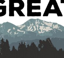 The Great Outdoors Sticker