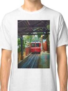 Corcovado Rack Railway at Station  Classic T-Shirt