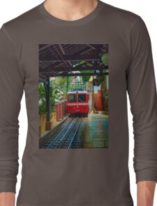 Corcovado Rack Railway at Station  Long Sleeve T-Shirt