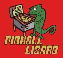 Pinball Lizard Kids Tee
