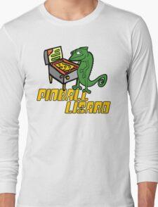 Pinball Lizard Long Sleeve T-Shirt