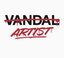 Artist Not Vandal (v2) by smashtransit
