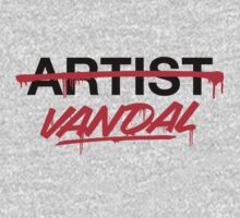 Vandal Not Artist (v2) by smashtransit