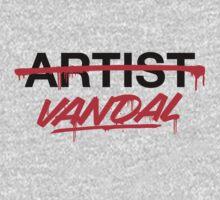 Vandal Not Artist (v2) Kids Clothes