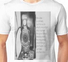 Life Camera Quote Unisex T-Shirt