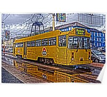 HEAVY HDR BLACKPOOL TRAM Poster
