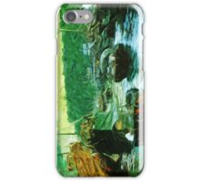 Hong Kong Water Taxis Abstract Impressionism iPhone Case/Skin