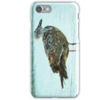 Herring Gull Abstract Impressionism iPhone Case/Skin