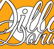 Dilla's Donuts Tee Sticker