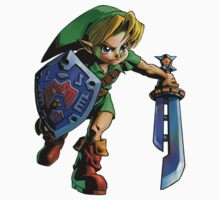 Link with shield Kids Clothes