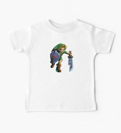 Link with shield Baby Tee