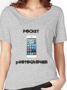 Pocket Photographer Women's Relaxed Fit T-Shirt