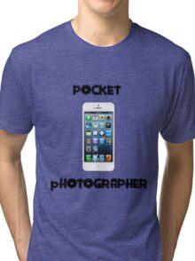 Pocket Photographer Tri-blend T-Shirt
