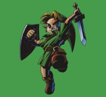 Link fighting Baby Tee