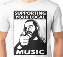 S.Y.L.M. Supporting Your Local Music Unisex T-Shirt