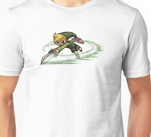 Link fighting with sword Unisex T-Shirt
