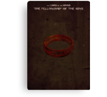 Lord of the Rings: The Fellowship of the Ring Canvas Print