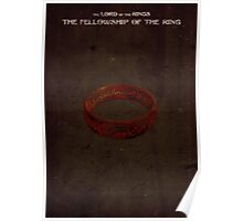 Lord of the Rings: The Fellowship of the Ring Poster