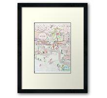 Gnome Village 1 Framed Print