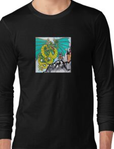 facing your fear (square) front Long Sleeve T-Shirt