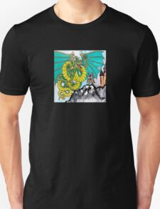 facing your fear (square) front T-Shirt