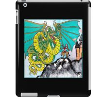 facing your fear (square) front iPad Case/Skin