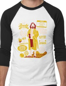 The Dude Quotes Men's Baseball ¾ T-Shirt