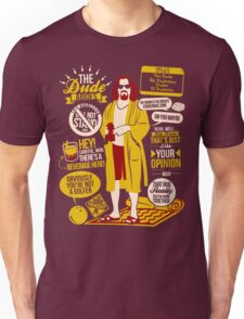 The Dude Quotes Unisex T-Shirt
