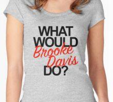 brooke davis Women's Fitted Scoop T-Shirt