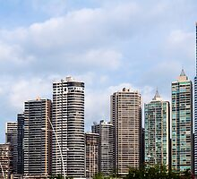 Panama City skyline, Panama. by FER737NG