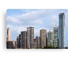 Panama City skyline, Panama. Canvas Print