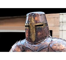 Medieval armour. Photographic Print