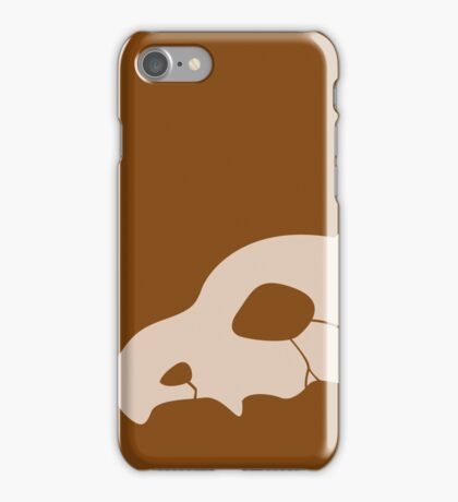 cubone b iPhone Case/Skin