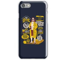 The Dude Quotes iPhone Case/Skin