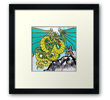 final fight (square) Framed Print