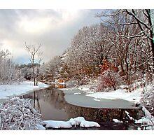 Stony Brook Late Winter Photographic Print
