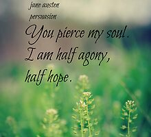 Jane Austen Quotes by Kimberose