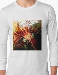 Red Night Shrimp Long Sleeve T-Shirt